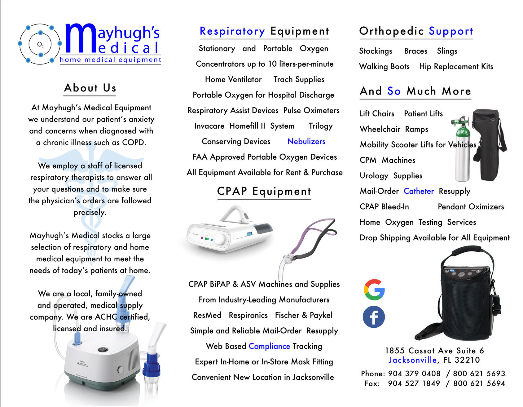 Mayhugh's Medical Equipment – Ryan Fletcher Design